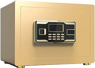 KDMB Kluizen voor thuisbeveiliging, wachtwoord elektronisch sleutelslot wandgemonteerde LCD-display kluis 35 * 25 * 25 cm ...