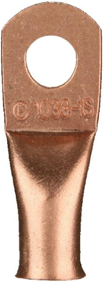 Install Bay 5 ☆ popular Copper Ring Terminal 4 Elegant Gauge CUR4 Inch 25 - 1 2 Pack