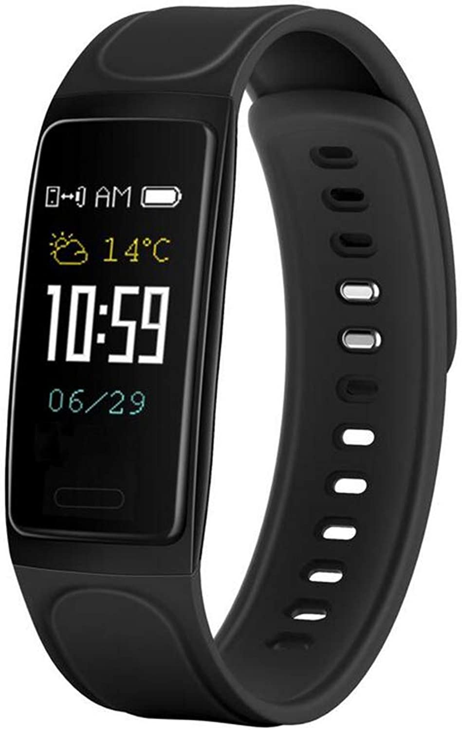 Smart Bracelet with color Screen Heart Rate Sleep Monitoring blueeetooth Pedometer Waterproof Sports Bracelet for Men and Women