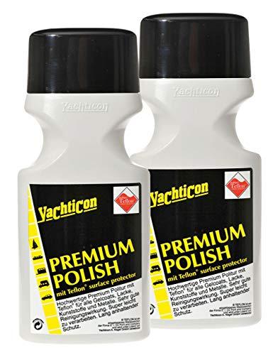 Yachticon Premium Polish mit Teflon® - 2 Flaschen zu je 500ml = 1 Liter