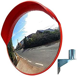 and Protection Against Shoplifters,Suitable for Shops MIRROR Outdoor Traffic Wide-Angle Lens,Convex Mirror,Panoramic Dome Convex Road Mirror Offices 360 Degree Viewing Angle,Acrylic Safety Mirror