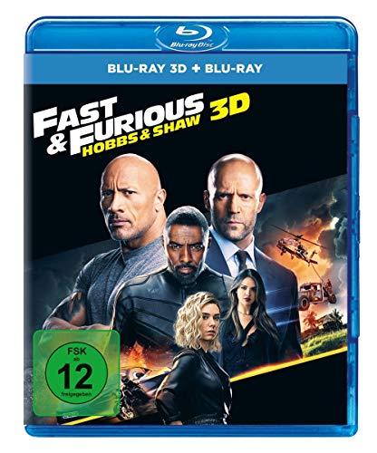 Fast & Furious: Hobbs & Shaw  (3D + Blu-ray)