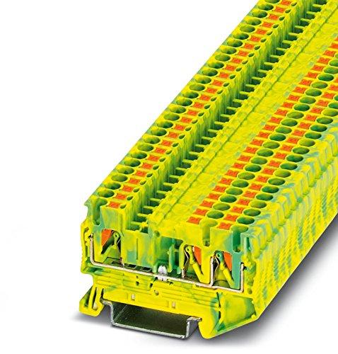 PHOENIX CONTACT Schutzleiter-Reihenklemme PT 2,5-TWIN-PE, 50 Stück, 3209565
