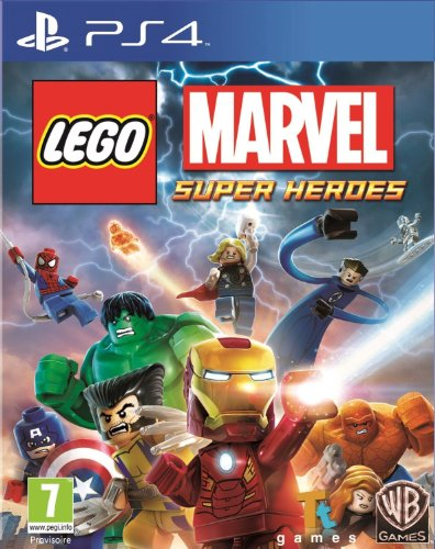 Warner Bros Lego Marvel Super Heroes, PS4 - Juego (PS4, PlayStation 4, Acción / Aventura, E10 + (Everyone 10 +))