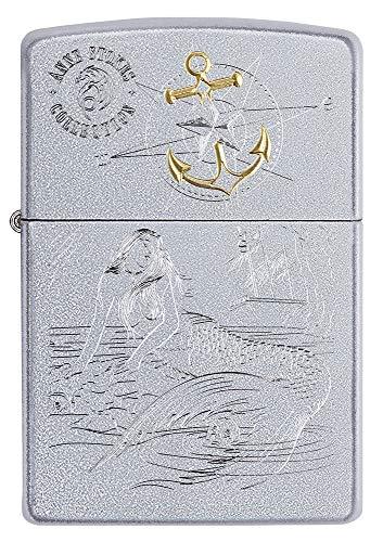 Zippo Anne Stokes 60005610 - Mechero de Gasolina Recargable con Caja de Regalo, Color Plateado