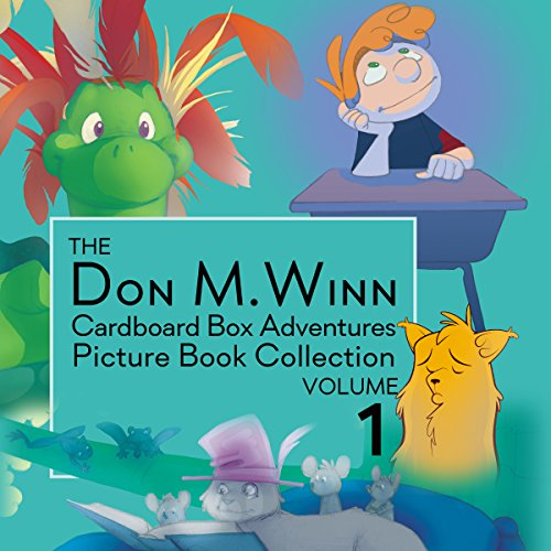 The Don M. Winn Cardboard Box Adventures, Volume 1 audiobook cover art