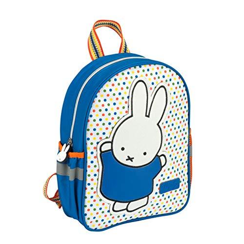 Princess Traveller Miffy Children's Backpack 30 x 24 x 9 cm Blue