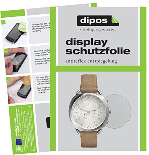 dipos I 6X Schutzfolie matt kompatibel mit Fossil Q Accomplice Folie Bildschirmschutzfolie