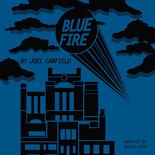 Blue Fire audiobook cover art