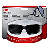 3M ForceFlex Plus Safety Eyewear with Scratch Resistant Lens, 1-Pack, Black Frame (92235-WZ4)