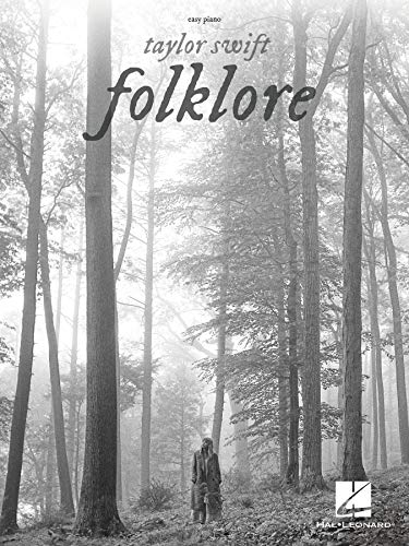 Taylor Swift - Folklore: Easy Piano Songbook with Lyrics