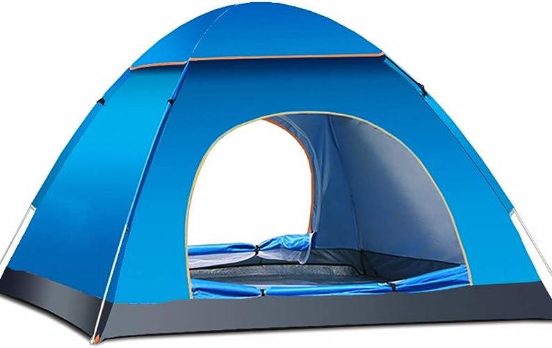 Wild plage Tent Tente de Camping en Plein air de Camping Rapide, étanche, Coupe-Vent, Convient au Pique-Nique, Escalade en Montagne, pêche, Aventure,bleu