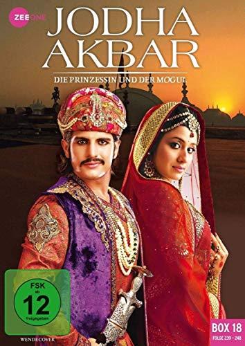 Jodha Akbar - Die Prinzessin und der Mogul (Box 18, Folge 239-248) [3 DVDs]