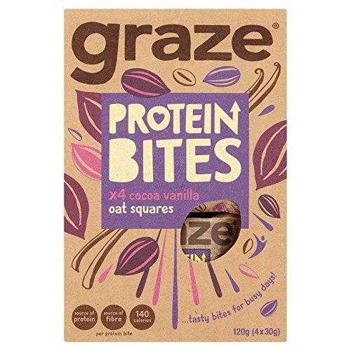 Graze Cocoa & Vanilla Protein Bites 4 x 30g