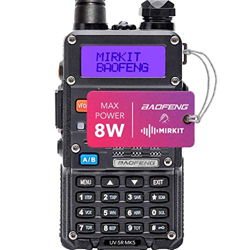 Mirkit Radio Baofeng UV-5R MK5 8W MP Max Power 2020 1800 mAh Li-Ion Battery Pack, Baofengradio corp.