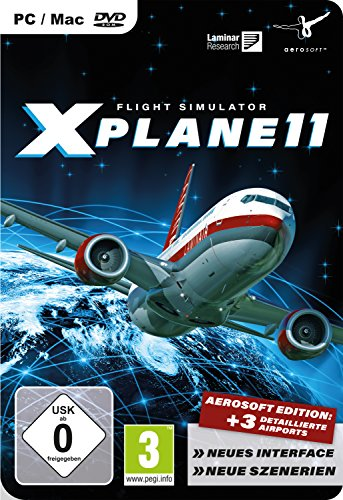 X-Plane 11 (PC+Mac) - [Edizione: Germania]