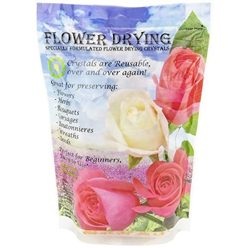 Dry-Packs Saugfähige Kristalle, Silica-Gel, für Blumen