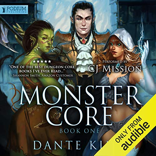 Monster Core Audiobook By Dante King cover art