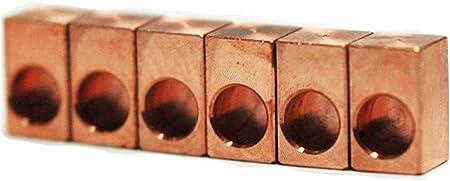 Creatifinity Parts ベルブラス インサートブロック / ブロンズ製(ベルブラス) FRT用 インサートブロック フロイドローズ等に 上品で煌びやかなサウンド CT-66-6P (6個セット)