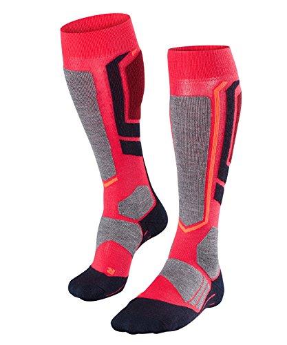 FALKE Damen Snowboard Socken SB2, Wollmischung, 1 Paar, Rosa (Rose 8564), Größe: 37-38
