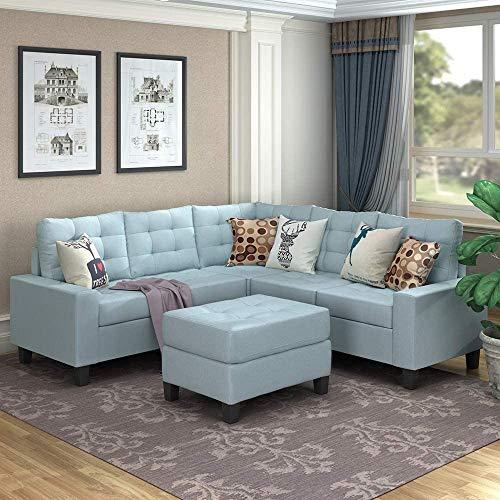 MOOSENG Sofa Sectional Set, Symm...