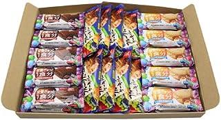 グリコ バランスオンminiケーキ(2種・各10コ)& 毎日果実〈フルーツたっぷりのケーキバー〉(8コ)セット