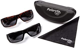 Polaryte HD Polarized Sunglasses Men Women, Sunglasses Case Cleaning Cloth-Make