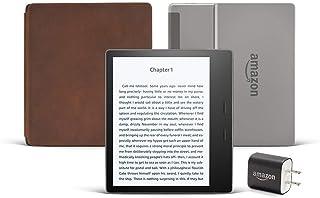 "Kindle Oasis (Previous Generation - 9th) Essentials Bundle including Kindle Oasis 7"" E-reader (8 GB, Wi-Fi, Graphite, Spec..."