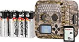 Wildgame Innovations Shadow Trail Camera Package, 20 Megapixel with 16 GB SD Card, Batteries, Magnetic Mounting Bracket and Adjustable Strap Included