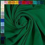 Jersey Vanessa von Swafing, uni grasgrün (50cm x 160cm)