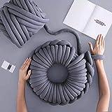 SBWW - Manta tejida manual para tejer, lana gruesa, muy suave, para hacer ganchillo o hacer ganchillo DIY 2020 adecuado para mantas, perreras, cojines, mantas y almohadas