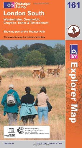 OS Explorer map 161 : London South