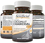 Best Charcoals - Activated Coconut Charcoal 1200mg, 180 Capsules - Pills Review