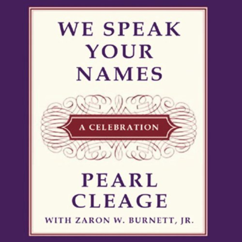 We Speak Your Names audiobook cover art