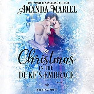 Christmas in the Duke's Embrace cover art