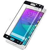 [Galaxy Note Edge Screen Protector] Premium Full Coverage Clear Tempered Glass Screen Protector Guard Shield Film for Samsung Galaxy Note Edge SM-N915V Smartphone