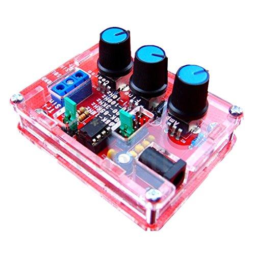 TOOGOO (R) XR2206 Funktionsgenerator Signalgenerator Sinus Dreieck Rechteck Welle 1HZ - 1MHZ Rot