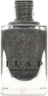 ILNP La Catedral - Neutral Charcoal Grey Holographic Sheer Jelly Nail Polish