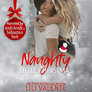 A Naughty Little Christmas audiobook cover art
