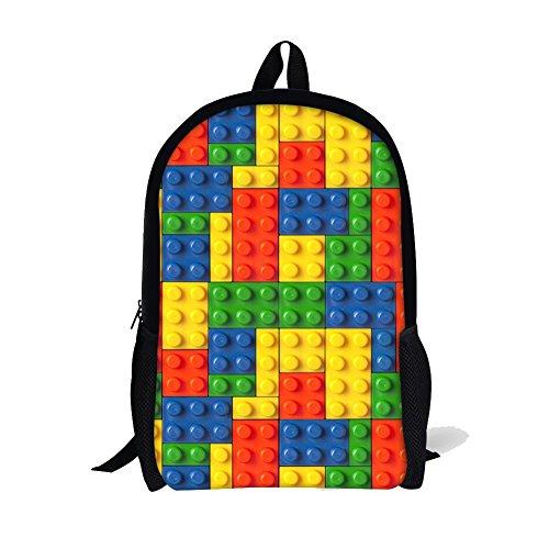 Advocator, Zainetto per bambini, Color-1 (Arancione) - Advocator packable backpack