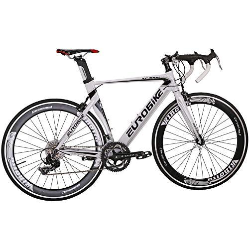 Eurobike OBK XC7000 Lightweight Aluminium Road Bike 700C Wheels Commuter Cycling Bicycle 14 Speed...