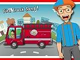Fire Truck Song by Blippi - Fire Trucks for Kids
