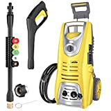 Oasser Electric Pressure Washer Power Washer 3046 PSI 1.85 GPM 1800W High Pressure Washer Portable...
