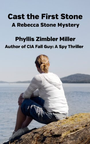 Book: Cast the First Stone - A Rebecca Stone Mystery by Phyllis Zimbler Miller