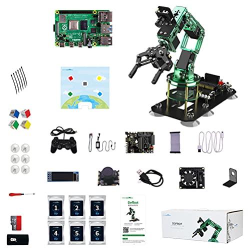 FXQIN 6DOF Robot Mechanical Arm, DIY...