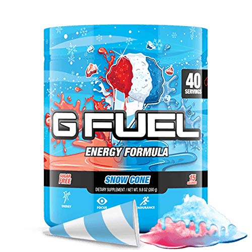 G Fuel Snow Cone Tub (40 Servings) Elite Energy and Endurance Formula