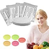 Collagen for Face Mask Machine, DIY Natural Fruit Vegetable Facial Care Mask Suitable for Voice Broadcasting Full Automation Mask Maker Machine (32Pcs Collagen)