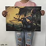 League Of Legends Poster Online Game Poster Retro