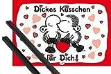 1art1 Sheepworld Poster (91x61 cm) Dickes Küsschen Für