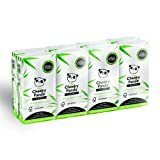 The Cheeky Panda 100% Bamboo Pocket Tissue, paquete de 8